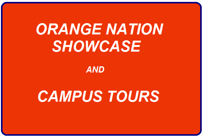 Orange Nation Showcase and Campus Tours